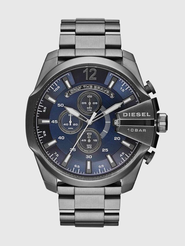 Diesel DZ4329 MEGA CHIEF, Silber - Uhren - Image 1