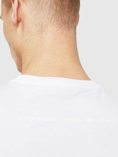 Diesel - T-JUST-T25, Weiß - T-Shirts - Image 4