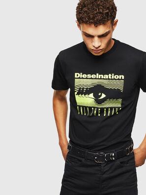 T-DIEGO-J4, Schwarz - T-Shirts