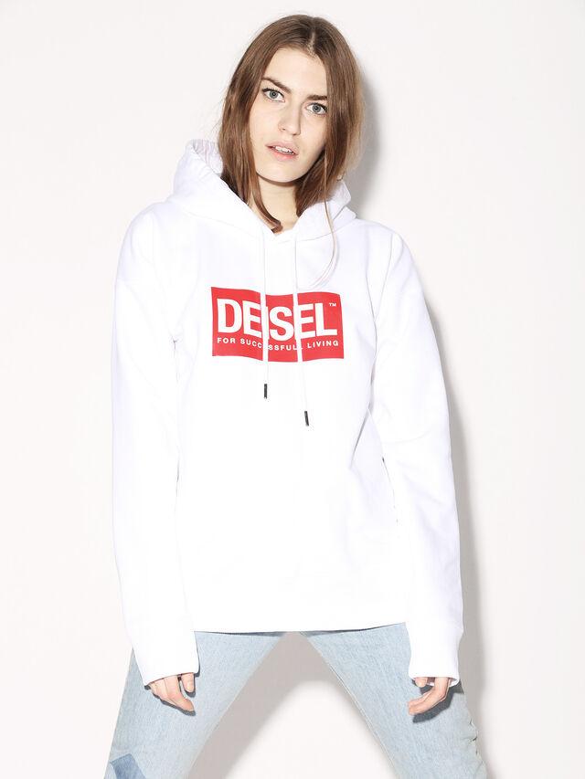 Diesel - DEIS-SHOOD, Weiß - Sweatshirts - Image 3