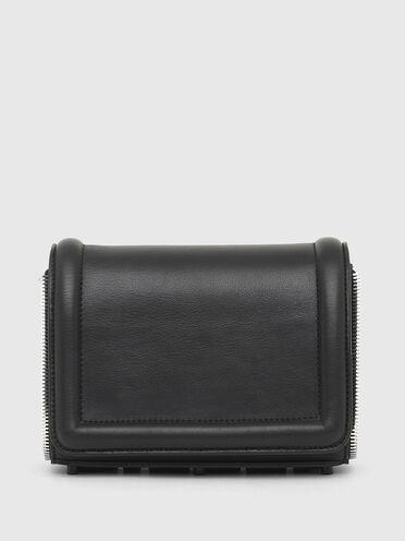 Kleine Crossbody-Tasche mit Reißverschlussdetails