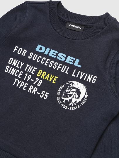 Diesel - SDIEGOXB-R, Dunkelblau - Sweatshirts - Image 3