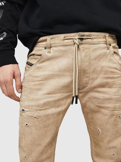 Diesel - Krooley JoggJeans 069GT, Beige - Jeans - Image 3