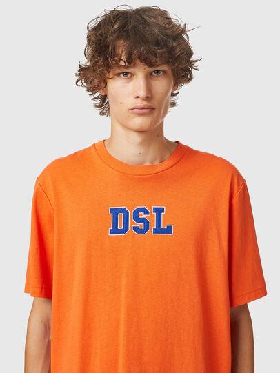 Diesel - T-JUST-B85, Orange - T-Shirts - Image 3
