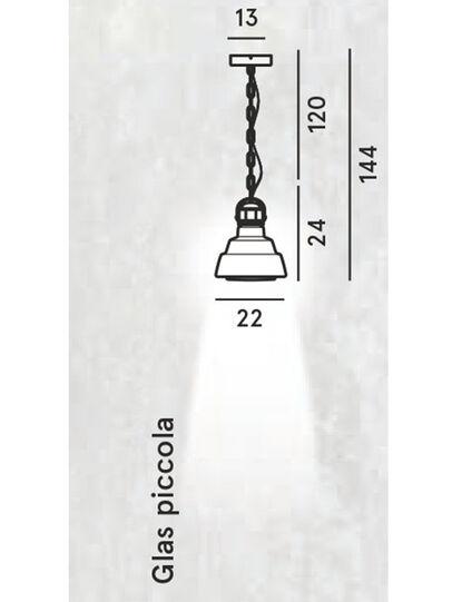 Diesel - GLAS PICCOLA,  - Pendellampen - Image 2