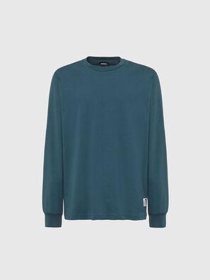 T-JUST-LS-MOHI, Wassergrün - T-Shirts