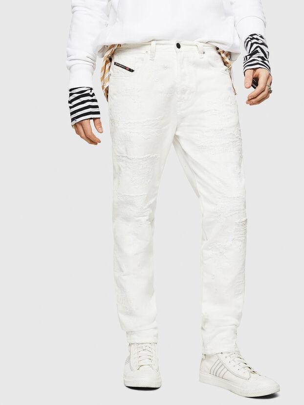 Mharky 069IJ, Weiß - Jeans
