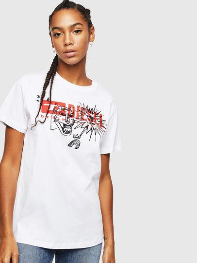 Diesel - T-DARIA-YC, Weiß - T-Shirts - Image 1