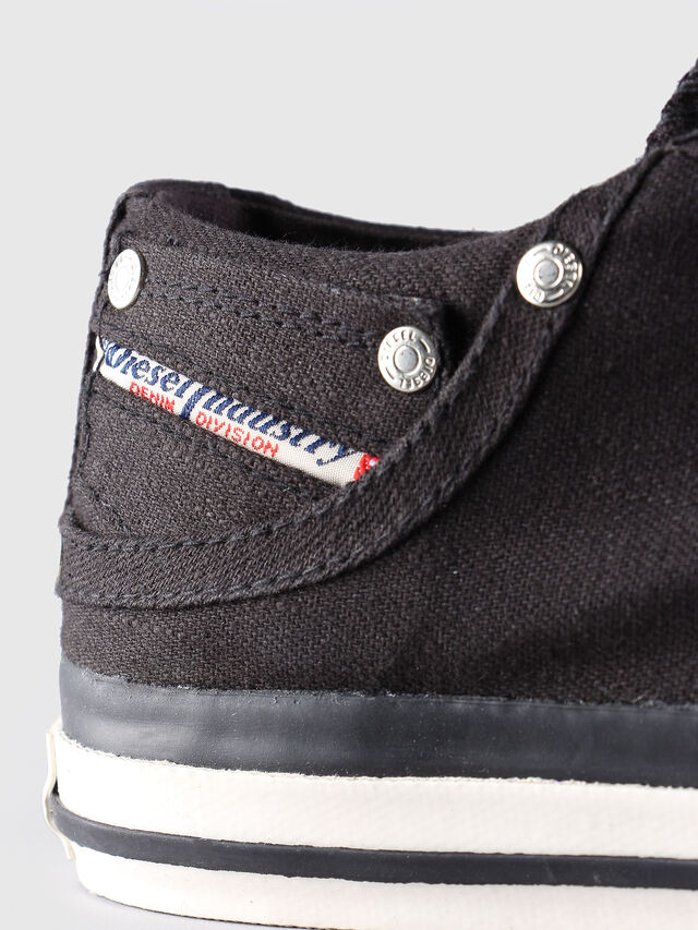 Diesel - EXPOSURE LOW, Schwarz - Sneakers - Image 6