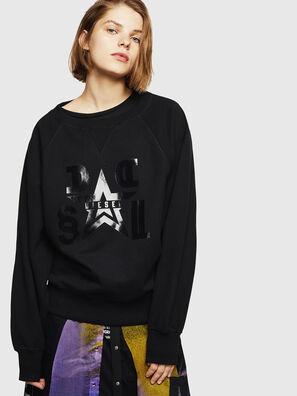 F-HENNY-D, Schwarz - Sweatshirts