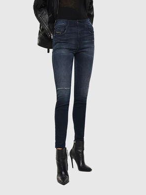 Slandy High 0870C, Dunkelblau - Jeans