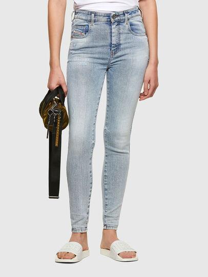 Diesel - Slandy High 009TG, Hellblau - Jeans - Image 1
