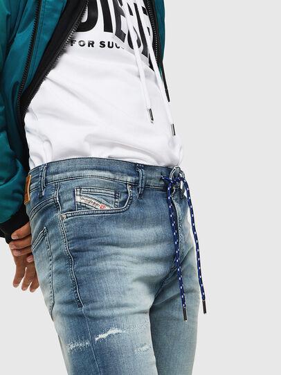 Diesel - D-Vider JoggJeans 069JZ, Hellblau - Jeans - Image 6