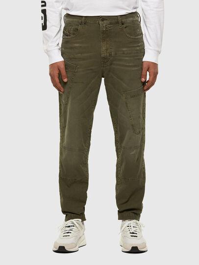 Diesel - D-Azzer JoggJeans® 069NF, Armeegrün - Jeans - Image 1