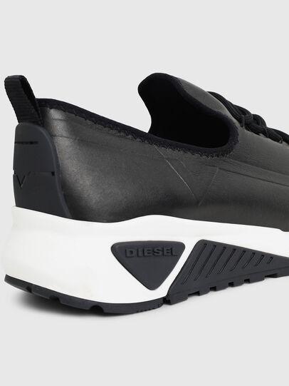 Diesel - S-KBY, Lederschwarz - Sneakers - Image 5