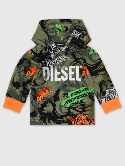 Diesel - TIRONDAB, Armeegrün - T-Shirts und Tops - Image 1