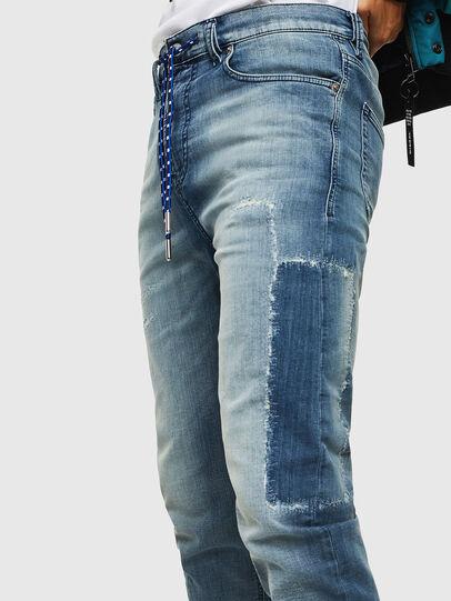 Diesel - D-Vider JoggJeans 069JZ, Hellblau - Jeans - Image 3