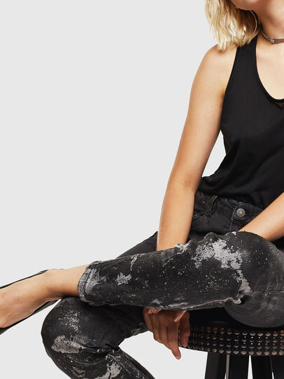 Diesel - D-Ollies JoggJeans 084AZ, Schwarz/Dunkelgrau - Jeans - Image 3