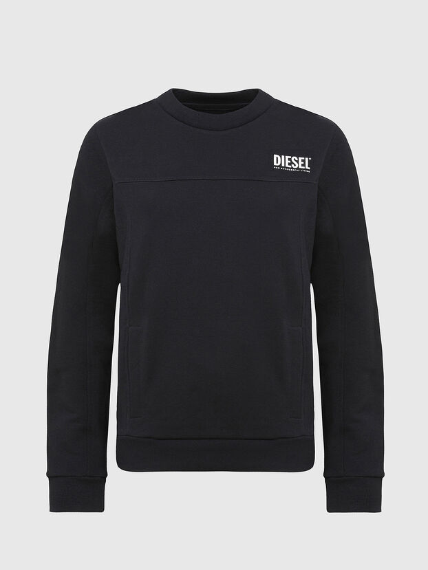 UFLT-VICTORIAL, Schwarz - Sweatshirts
