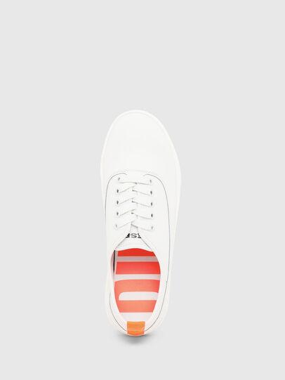Diesel - S-VANEELA LOW, Weiß/Orange - Sneakers - Image 5