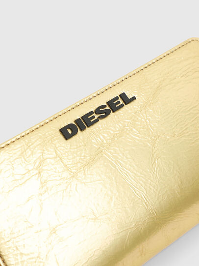 Diesel - GRANATO LCLS, Gold - Portemonnaies Zip-Around - Image 4