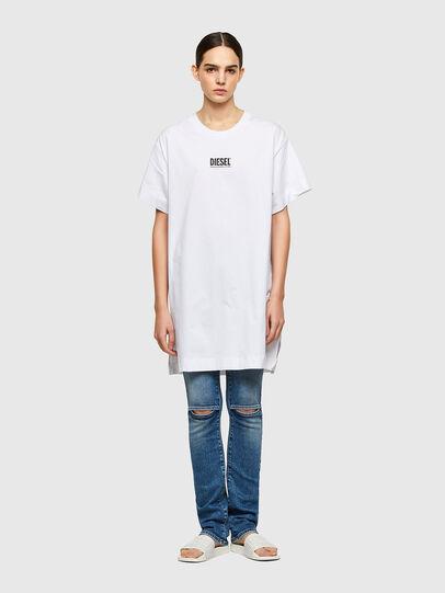 Diesel - D-BOWI-SMALLOGO, Weiß - Kleider - Image 1