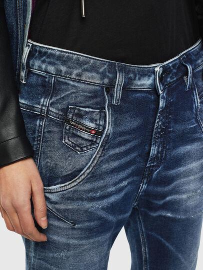 Diesel - Fayza JoggJeans 0096M, Dunkelblau - Jeans - Image 3