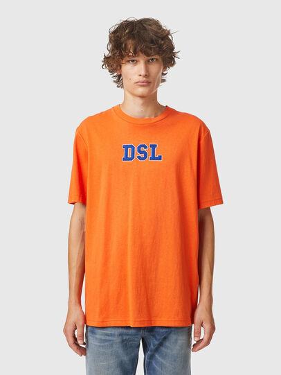 Diesel - T-JUST-B85, Orange - T-Shirts - Image 1