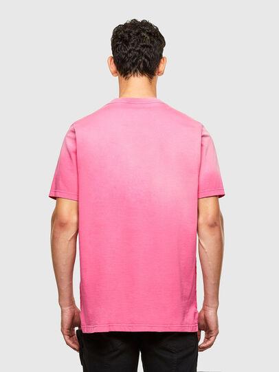Diesel - T-JUBIND-SLITS-A1, Rosa - T-Shirts - Image 2