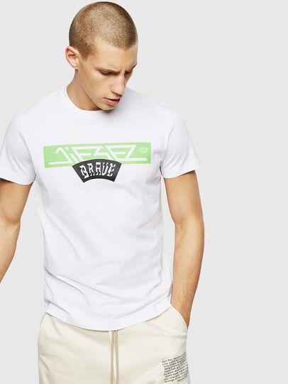 Diesel - T-DIEGO-A1, Weiß - T-Shirts - Image 1