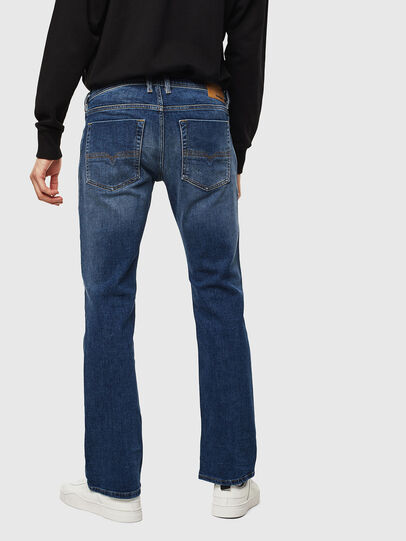 Diesel - Zatiny 0096E, Mittelblau - Jeans - Image 2