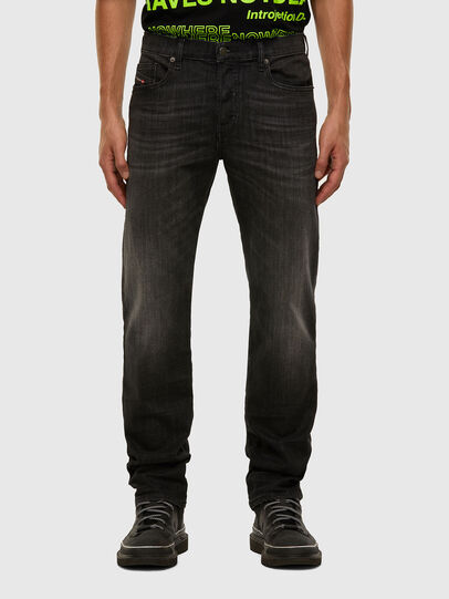 Diesel - D-Mihtry 009EN, Schwarz/Dunkelgrau - Jeans - Image 1