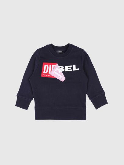 Diesel - SALLIB-R, Marineblau - Sweatshirts - Image 1