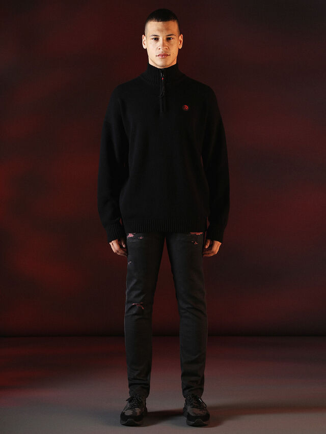 DVL-KNIT-SPECIAL COLLECTION, Schwarz