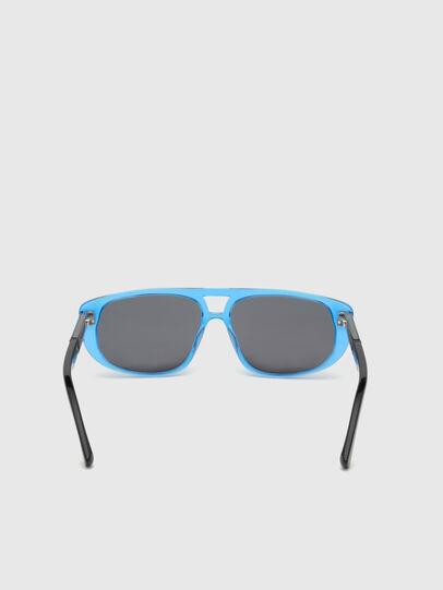 Diesel - DL0306, Blau/Schwarz - Kid Brillen - Image 4