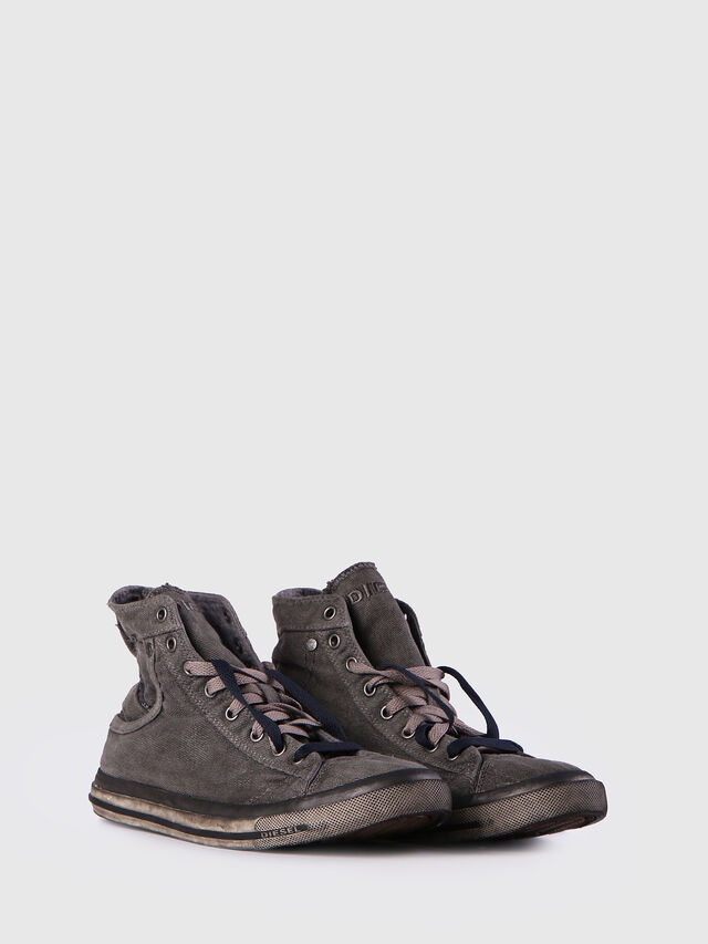 Diesel - EXPOSURE I, Silbergrau - Sneakers - Image 2