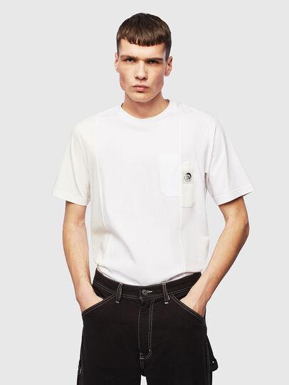 Diesel - T-RISEN, Weiß - T-Shirts - Image 4