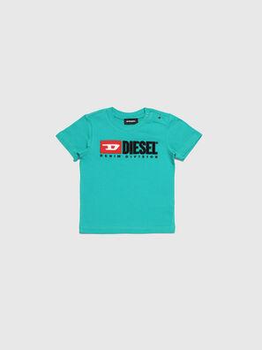 TJUSTDIVISIONB, Wassergrün - T-Shirts und Tops