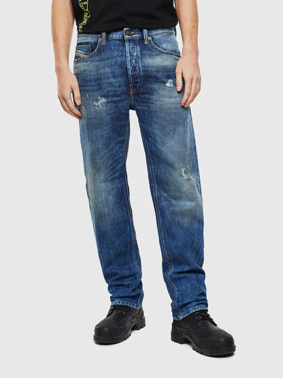Diesel - D-Macs 0097I, Mittelblau - Jeans - Image 1