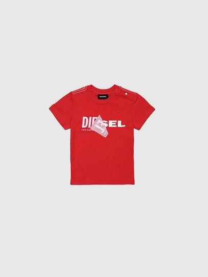 Diesel - TOQUEB MC, Rot - T-Shirts und Tops - Image 1