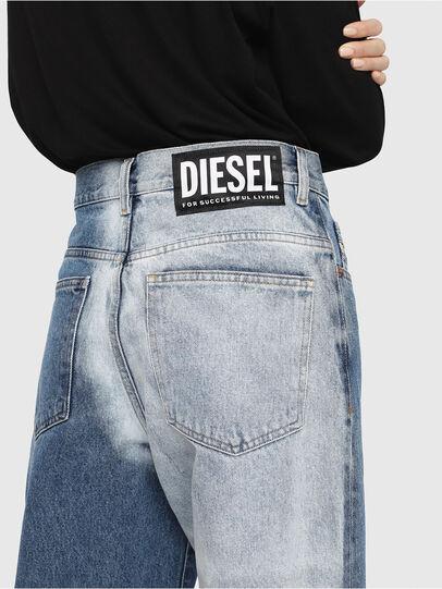 Diesel - Widee 0077V, Mittelblau - Jeans - Image 5