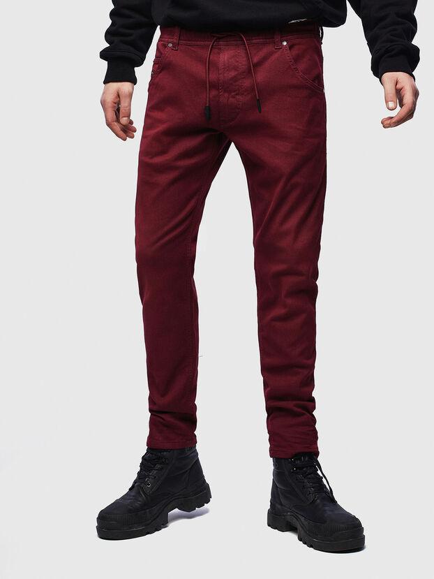 Krooley JoggJeans 0670M, Bordeauxrot - Jeans
