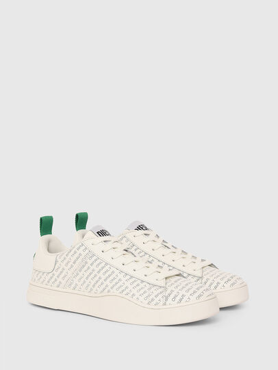 Diesel - S-CLEVER LOW LACE, Weiss/Grün - Sneakers - Image 2