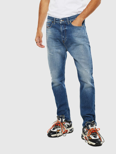 Diesel - D-Vider 0097B, Mittelblau - Jeans - Image 1