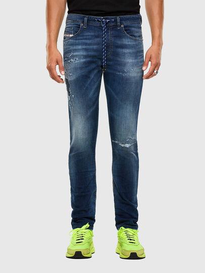 Diesel - Thommer JoggJeans 069PL, Dunkelblau - Jeans - Image 1