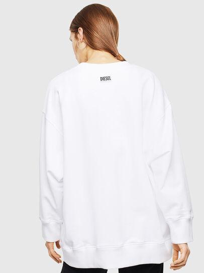 Diesel - F-AKUA, Weiß - Sweatshirts - Image 2