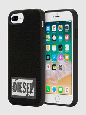 BLACK DENIM IPHONE 8 PLUS/7 PLUS/6S PLUS/6 PLUS CASE, Schwarz - Schutzhüllen
