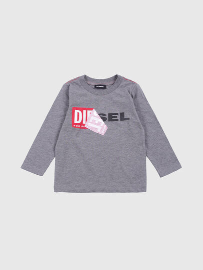 Diesel - TOQUEB-R, Grau - T-Shirts und Tops - Image 1