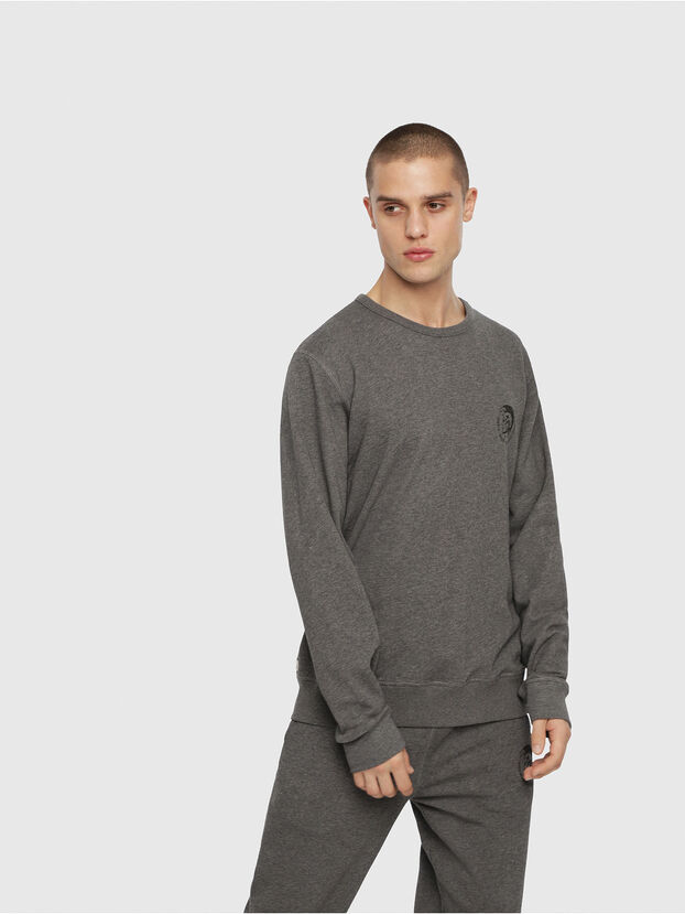 UMLT-WILLY, Grau Meliert - Sweatshirts