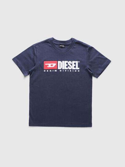Diesel - TJUSTDIVISION, Dunkelblau - T-Shirts und Tops - Image 1